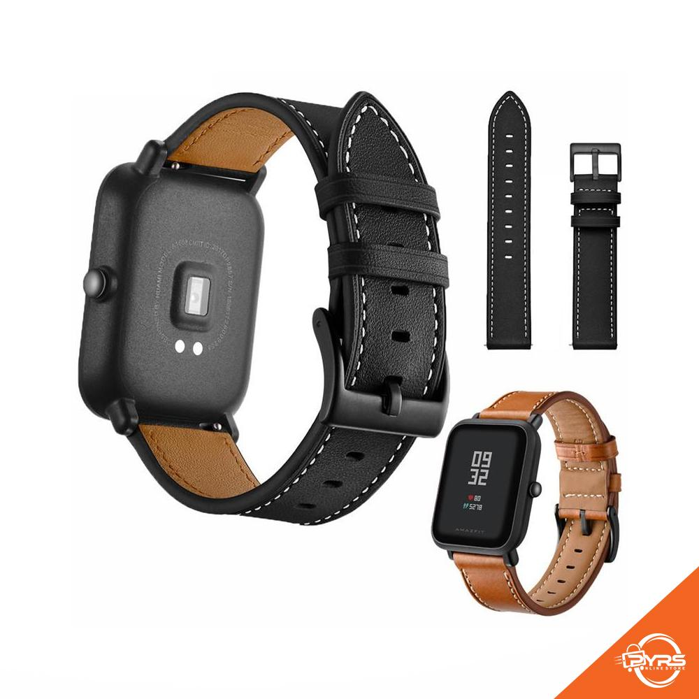 Smart Watch Accessories For Sale Smartwatches Prices Huami Amazfit Bip Smartwatch Band Replacement Strap Top Leather Bit