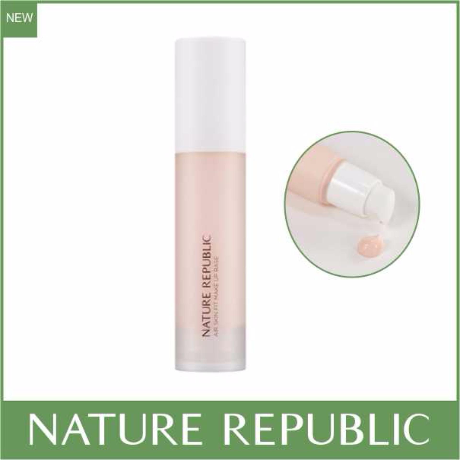 Nature Republic Provence Air Skin Fit Make Up Base SPF30 PA++ (01 Pink) Philippines