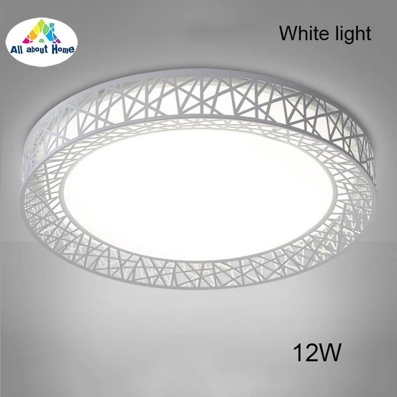 ABH LED Ceiling Light Bird Nest Round Lamp Modern Fixtures For Living Room Bedroom Kitchen