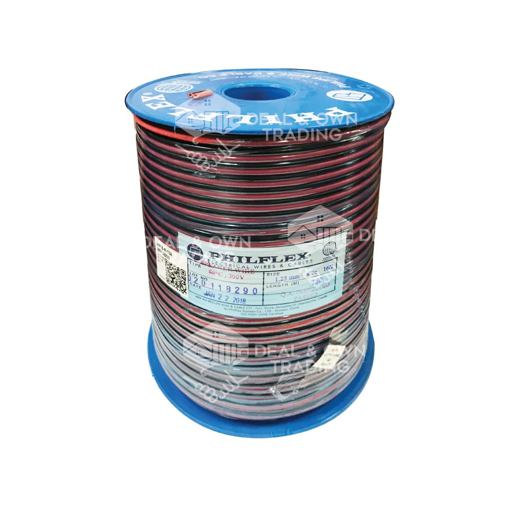 Philflex Philippines Price List Cables Wires Cords 500 Ft 2 1 Stranded Thhn Single Conductor Electrical Wire Black 16 Speaker And Red Pure Copper 150meters