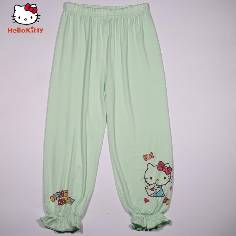 10087f75b Hello Kitty hello kitty New Style Girls girl women Bloomers Summer Capri  Pants song jin kou