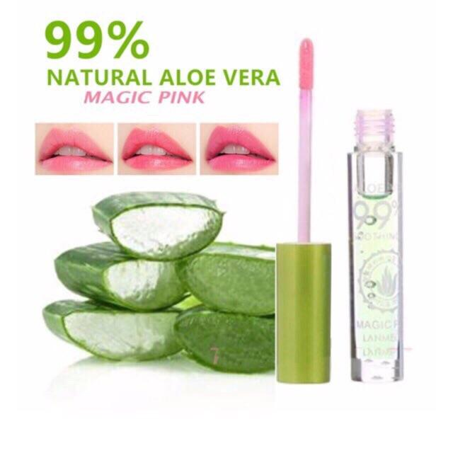 Aloe Vera Lip Gloss Moisture,99% Aloe Vera,Dry and Pale Lips Philippines