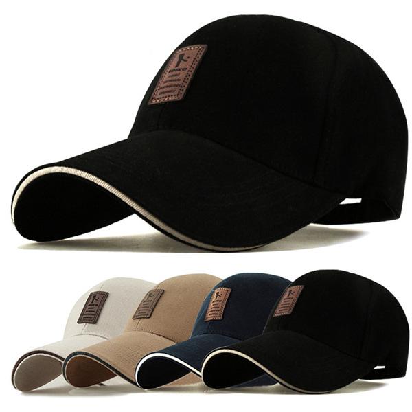 6015590e0d 2019 new Unisex Fashion Baseball Cap Sports Golf Snap back Solid Hats For  Men