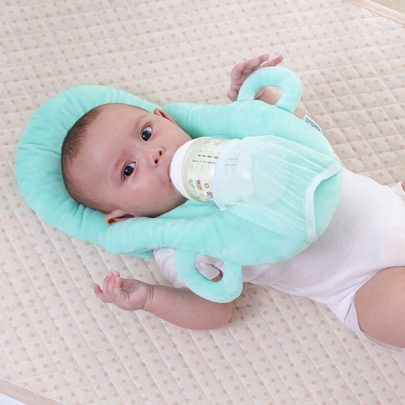 719515c3263 Baby Pillow Baby Self Feeding Pillow Multi-function Nursing Pillow Washable  Adjustable Infant Feeding Pillow