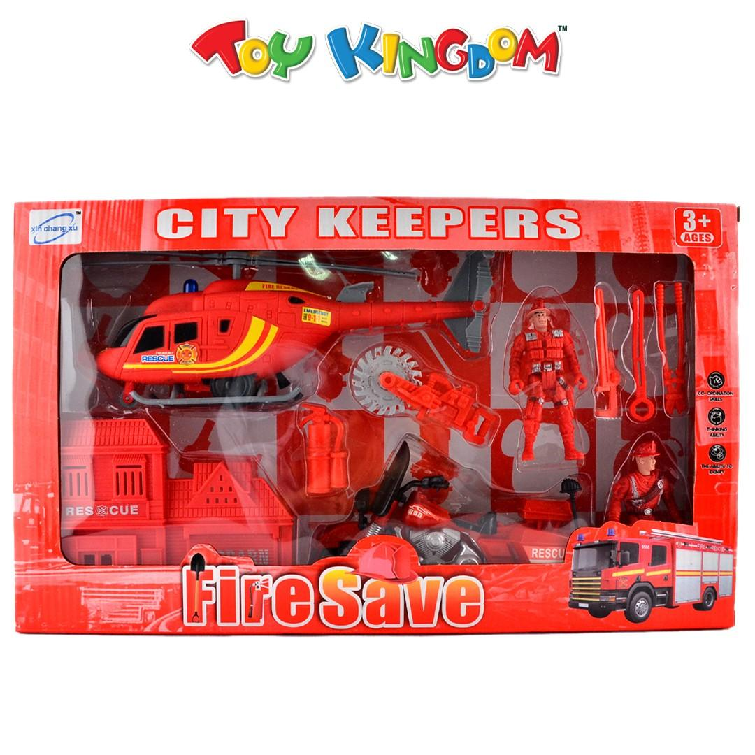 City Keepers Fire Save Playset