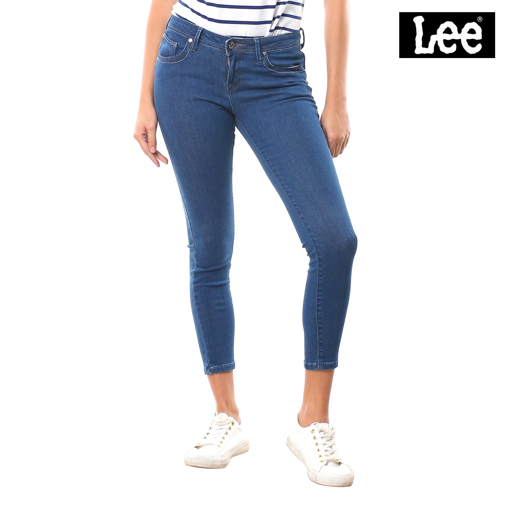 b8eb32c289 Lee Ladies Denim Pants Jeggings (Spring Blue)