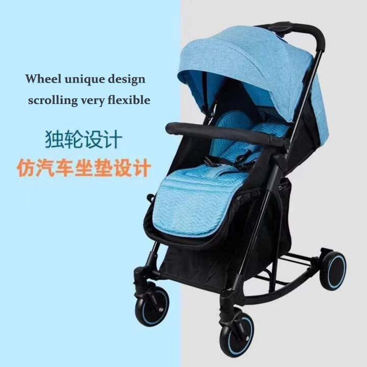 Fashion Folding Convertible Baby Stroller Rocker For Baby 0 To 3 Years Old By Css799.