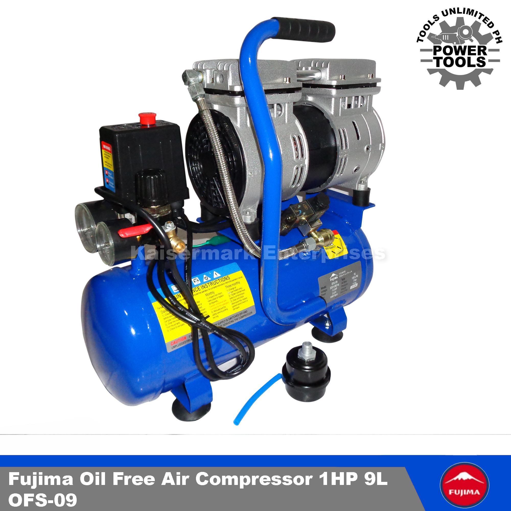 Fujima Philippines Price List Pressure Washer Air Compressors Wiring Schematic For 2 Oil Free Compressor 1hp 9l Silent Type