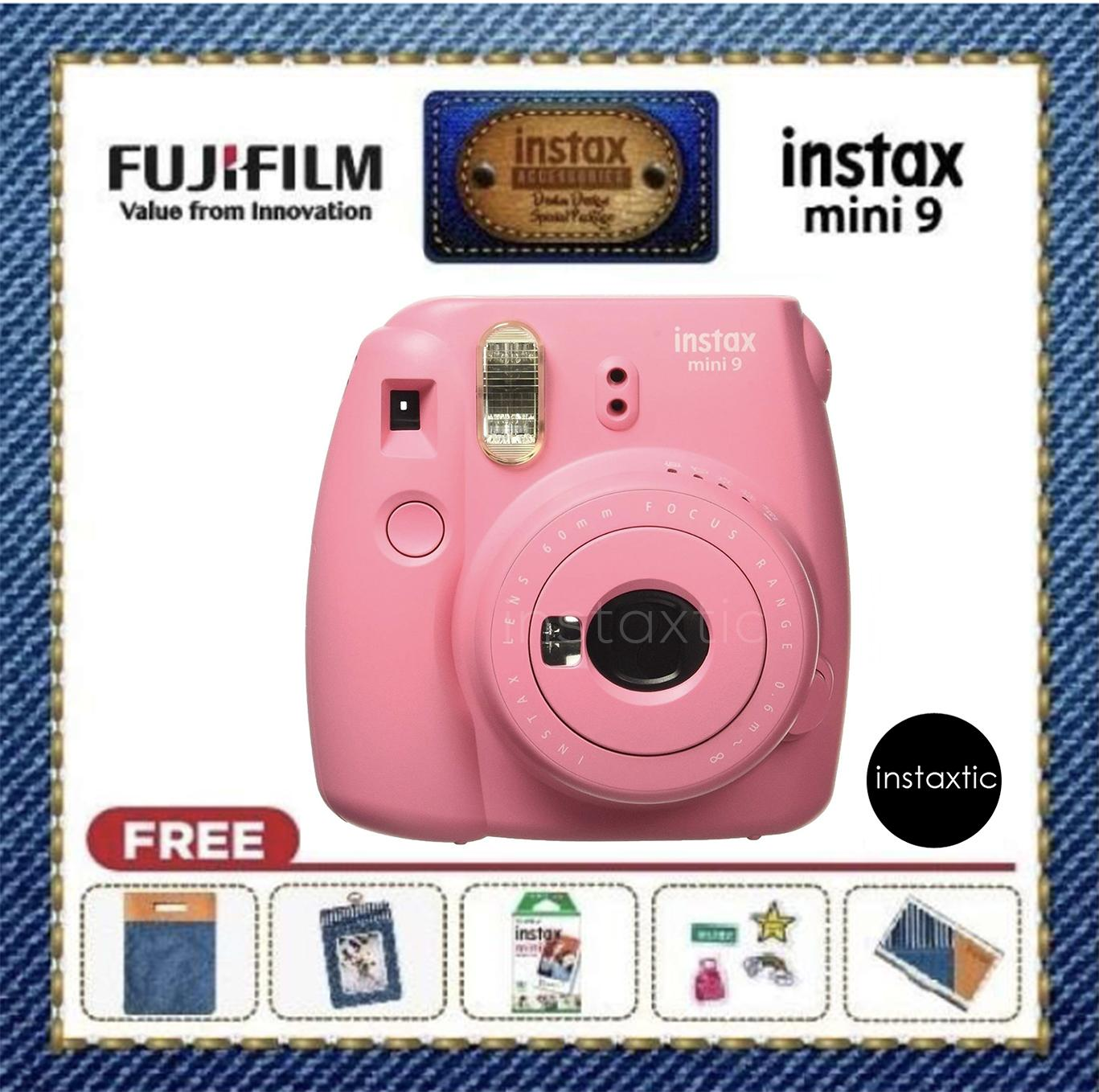 Fujifilm Instant Camera Philippines Film 3 Pack Instax Wide Twin Mini 9 Denim Design Special Kit