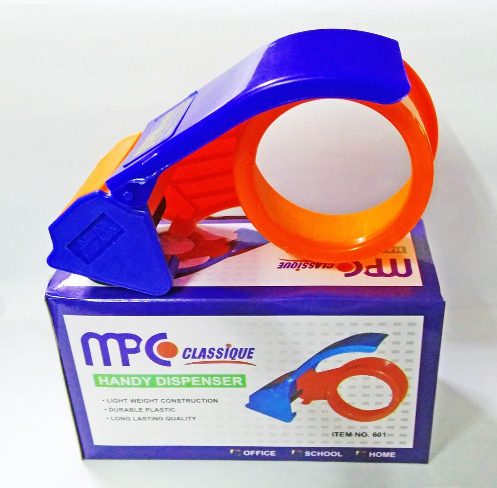 MPC Classique Packaging Tape Dispenser (PLASTIC) Fits 2-Inch Packaging  Tapes up to 1 Meters