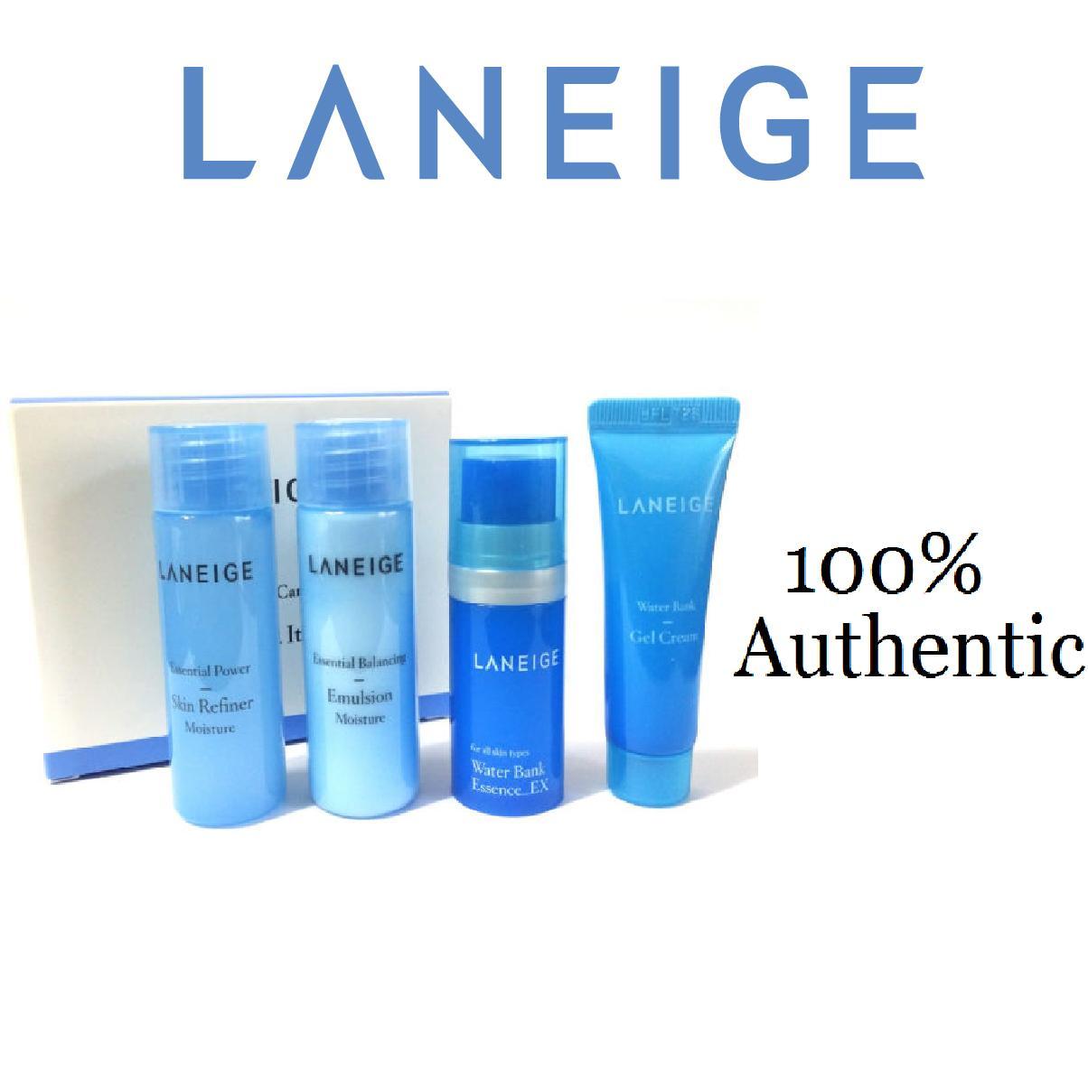Laneige Water Bank Trial Kit (4items) Korean Cosmetics