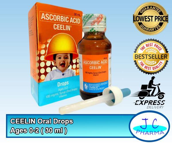 Ceelin Oral Drops 30 Ml By Jc Pharma.