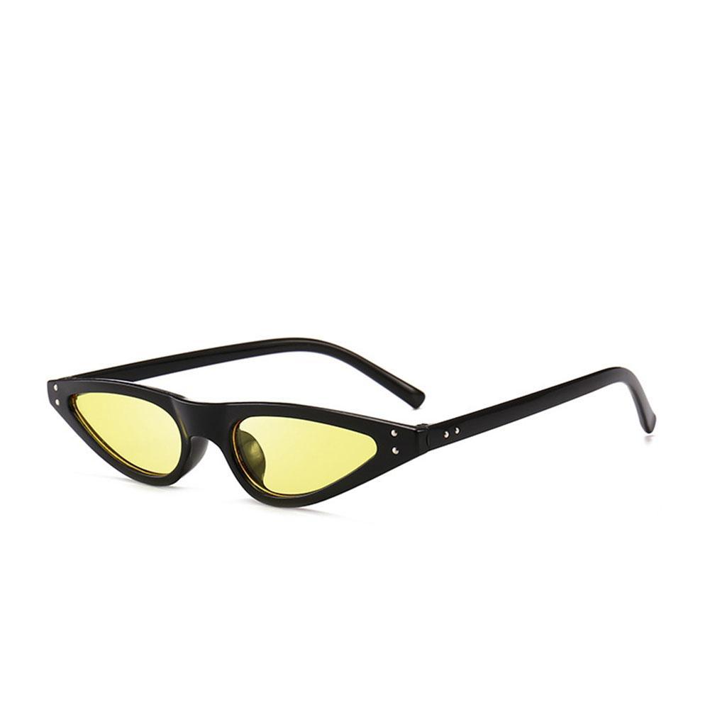 082e0c80a549 Man Women Cat-eye Sunglasses Fashion Small Frame Street Snap Eyewear Sun  Glasses Birthday Gift