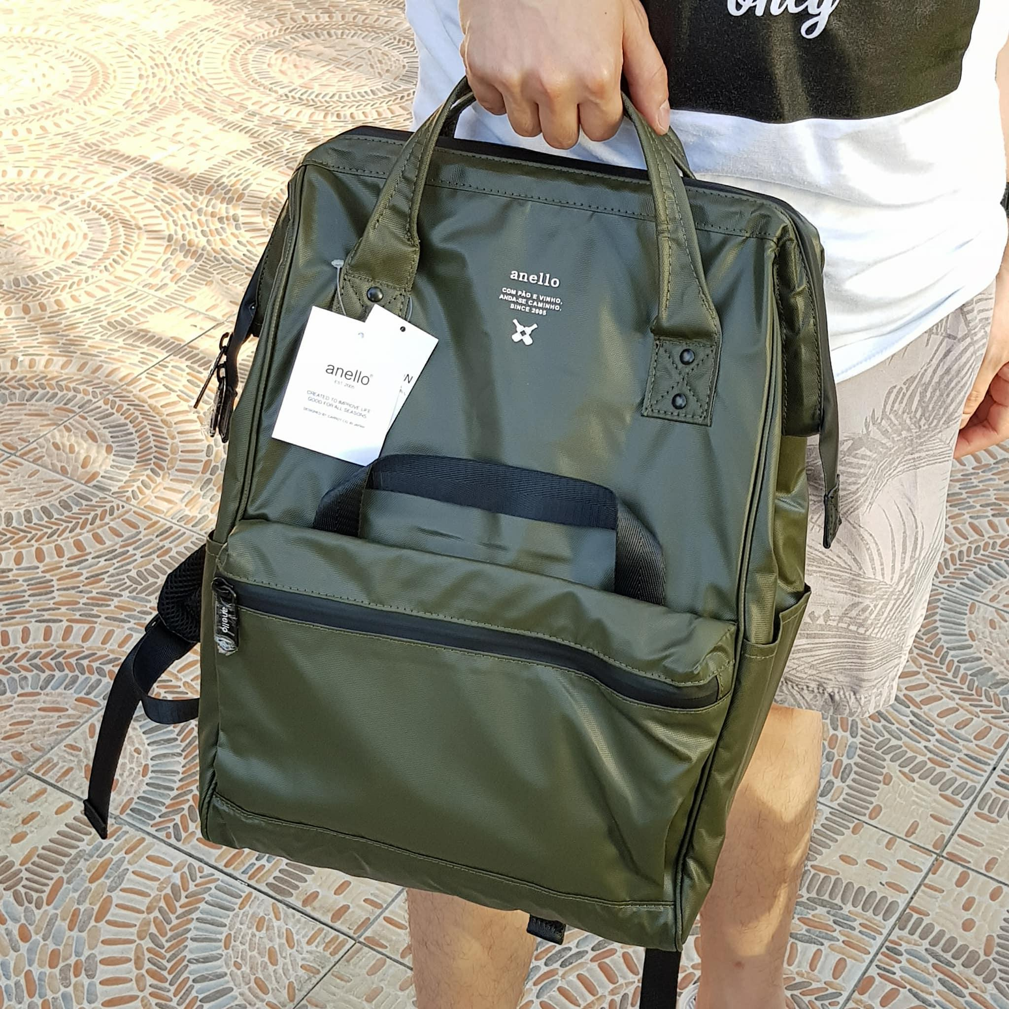 8193e5cd2b Anello Limited Edition Water Repellant Backpack - Dark Green