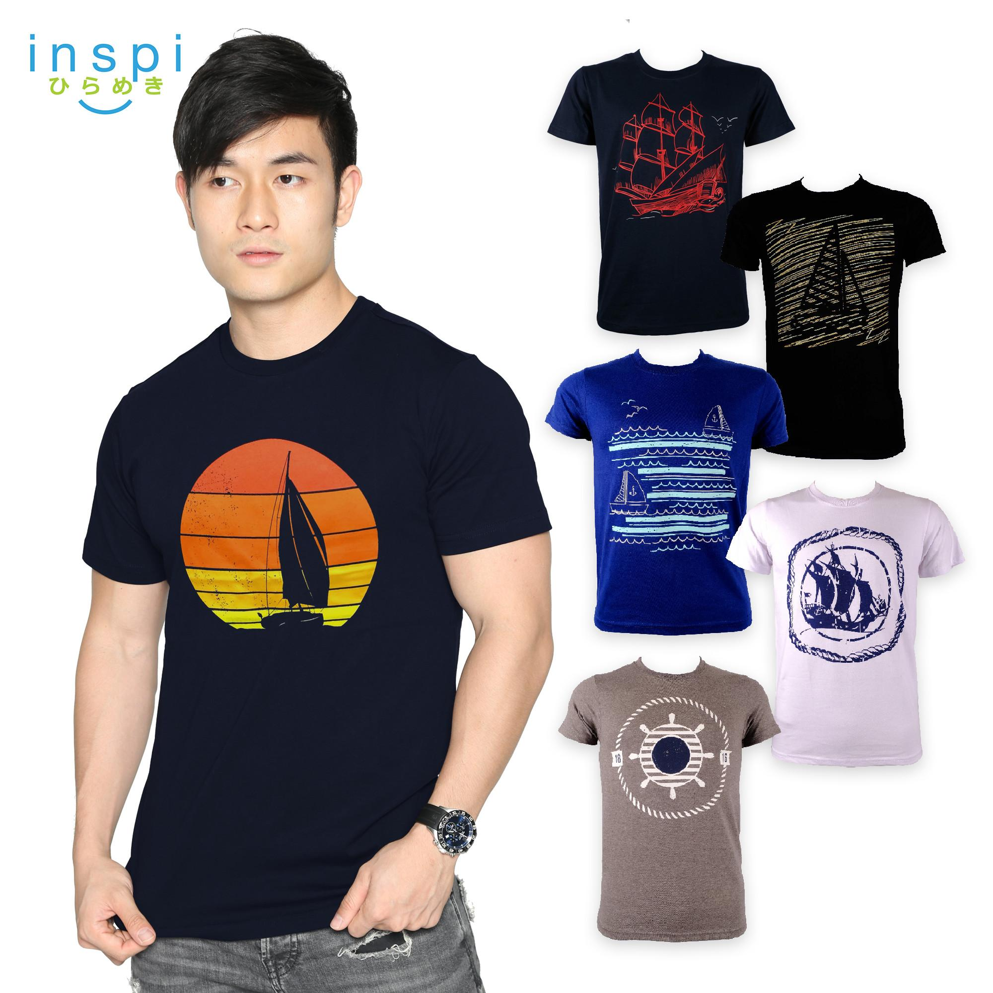 efe831384 INSPI Tees Sailing Collection tshirt printed graphic tee Mens t shirt shirts  for men tshirts sale