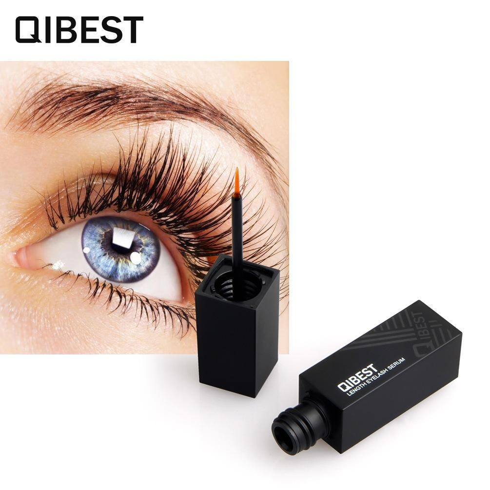 Qibest Eyelash Growth Serum Enhancer Powerful Longer Thicker Eye Lashes Liquid Treatments Lengthening Nourish Eye Cosmestics Philippines