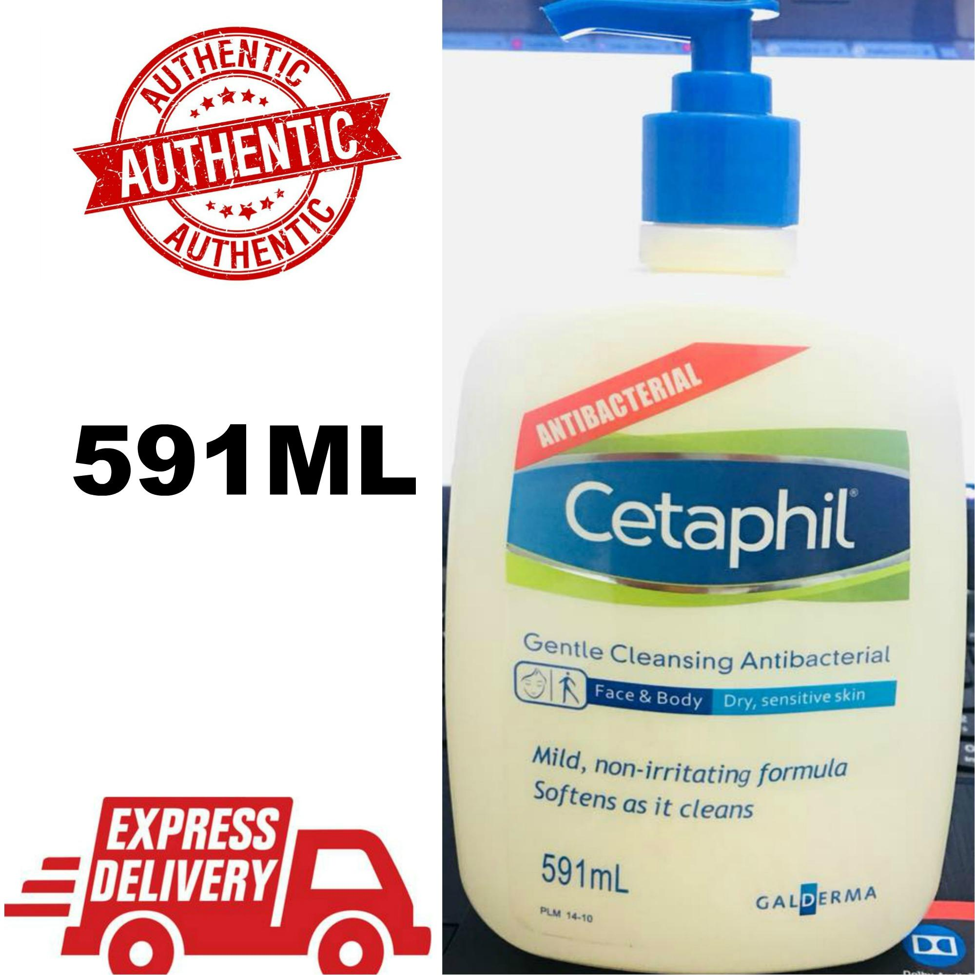Cetaphil Gentle Skin Cleanser 500 Ml Latest Products Up To 70 Off Lazada Philippines Antibacterial Cleanserauthentic 591ml