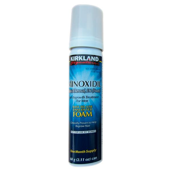 Kirkland Signature Hair Regrowth Treatment Minoxidil Foam For Men (5% Minoxidil) By Lito.