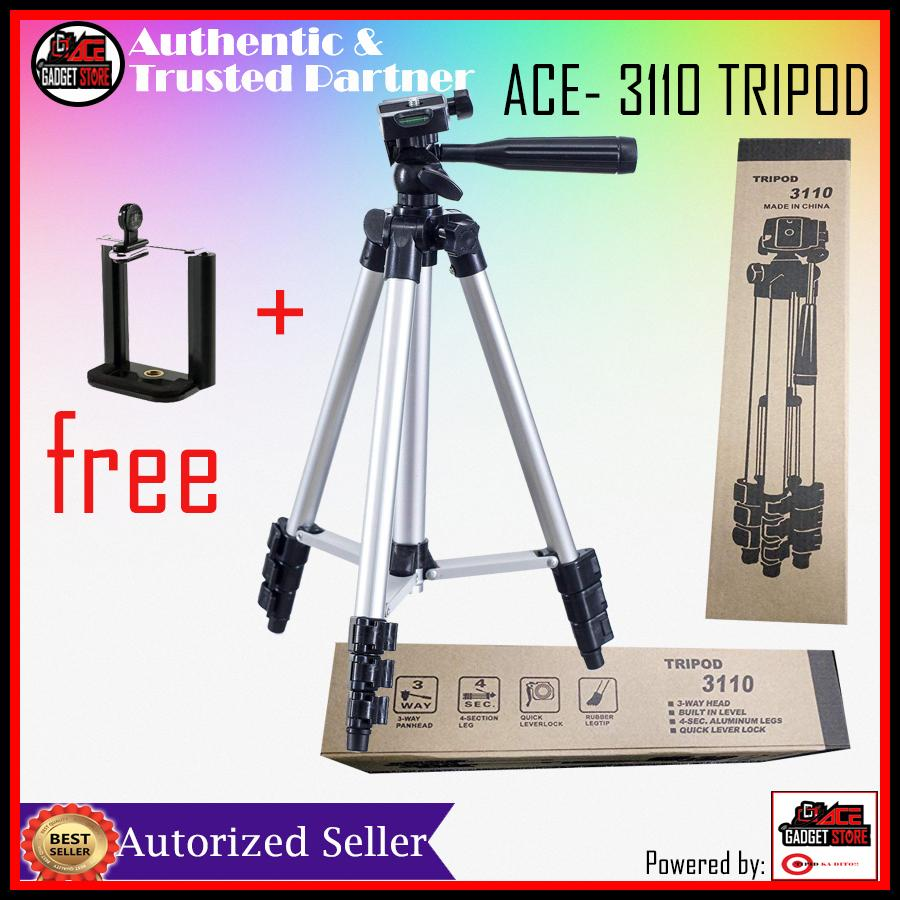 Camera Stand For Sale Tripods Monopods Prices Brands Specs In Weifeng Portable Tripod 4 Section Aluminium Legs With Brace Ace 3110 Digital Camcorder Phone Dslr Slr Cameras