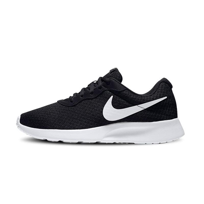 new style b868f 7f22a ... sale nike mens shoes tanjun blackwhite punched sheet surface vintage  casual sports running shoes 812654 21555