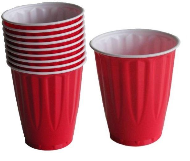 Kirkland Red Cups Set Of 12 By 1ss