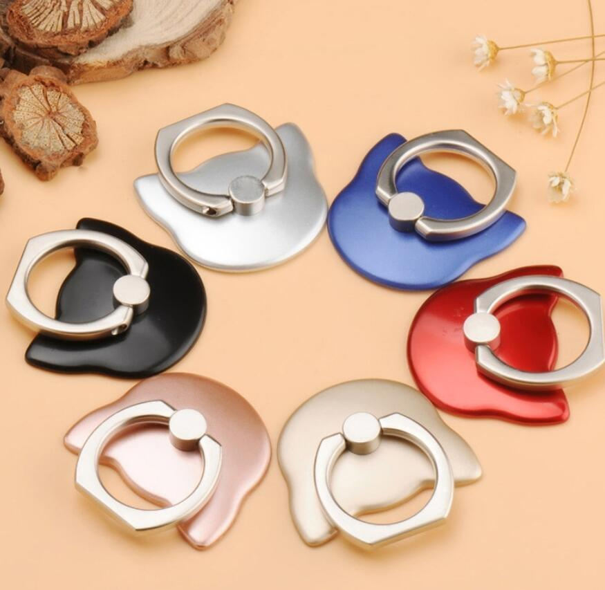 Universal Use Cat Style Phone Ring Holder & Stand,Metal Finger Ring Grip Stand Holder