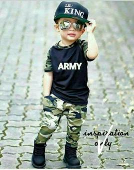 Kid army terno