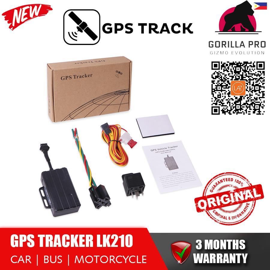 GPS Tracker Motorcycle Vehicle Car LK210 GPS GSM GPRS Anti-lost Waterproof  RealTime Tracking Built-in Sensor Low Battery Alarm