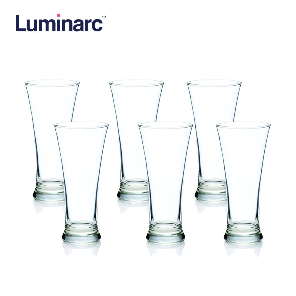 Luminarc Martigues Hi Ball Heat Resistant and Dishwasher Safe Drinking Water Juice Glass Tumbler Tumbler 32cl