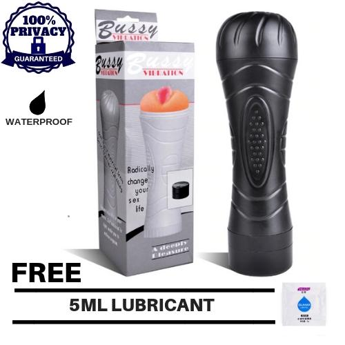 Secret Corner Bussy Vibrating Vagina Masturbator Cup Fleshlight Sex Toy By Secret Corner.