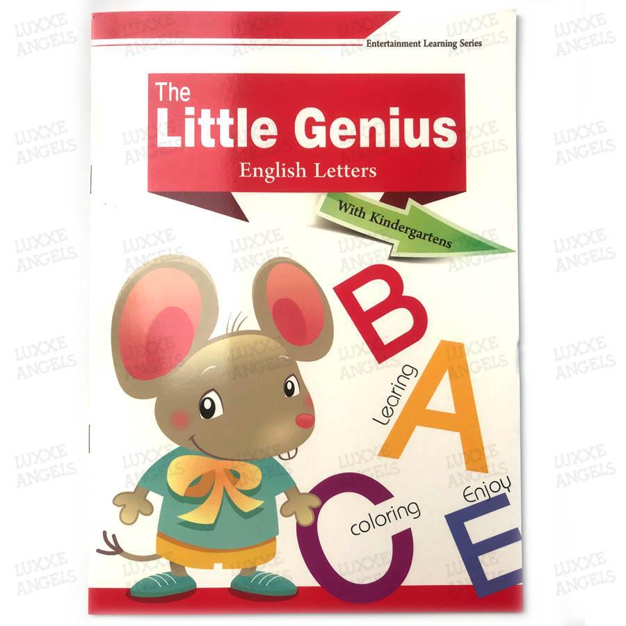 Little Genius Abc Workbook For Children By Luxxe Angels.