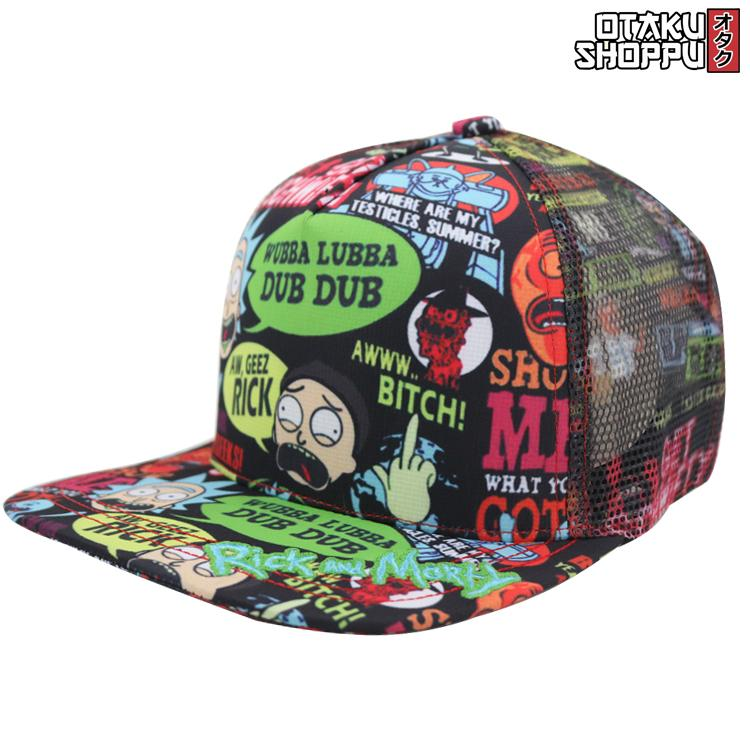Otaku Shoppu Unisex Fashionable Snapback Cosplay Cap (rick And M0rty) By Otaku Shoppu.