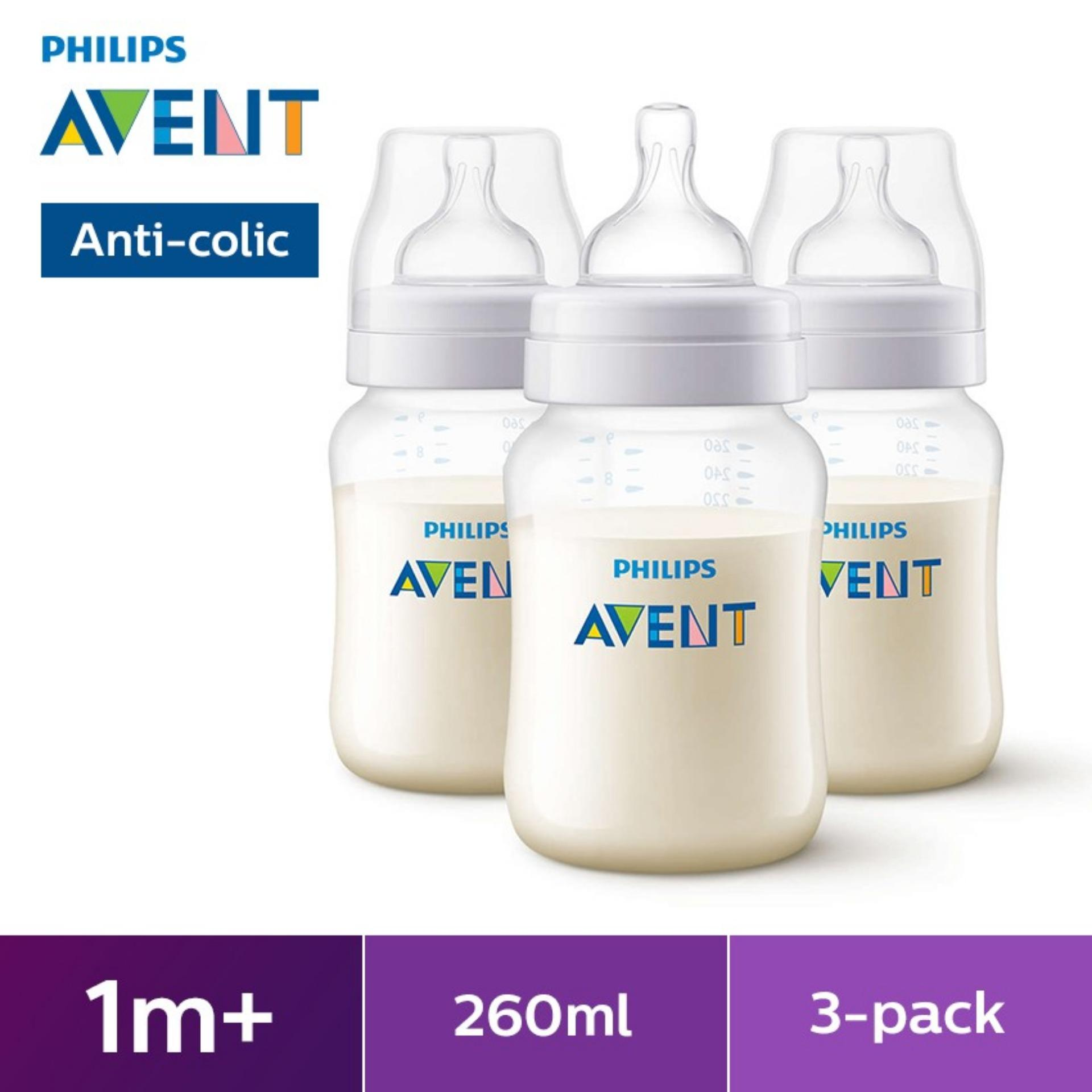 Philips Avent 9oz Bpa-Free (pp) Bottle 3 Pack By Lazada Retail Philips Avent.