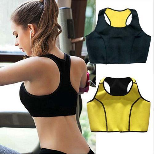 ef4acb43570ec Hot Thermal Slimming Shaping Sports Bra - Sweat Neoprene Slimming Shaper Bra