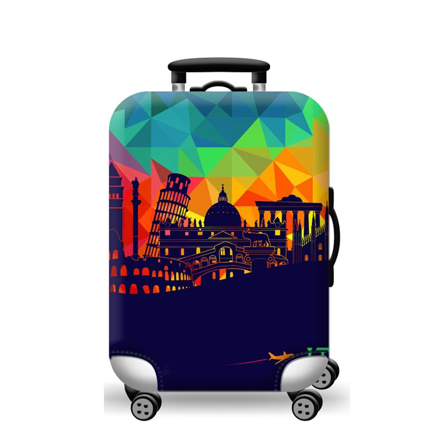 Cover Only Elite Luggage Suitcase Night City Small