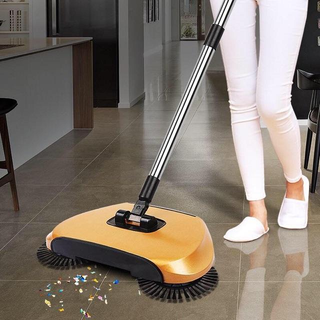 Magic Broom Hand Push Sweeping Floor Dustpan Machine By Wst Office Shop.
