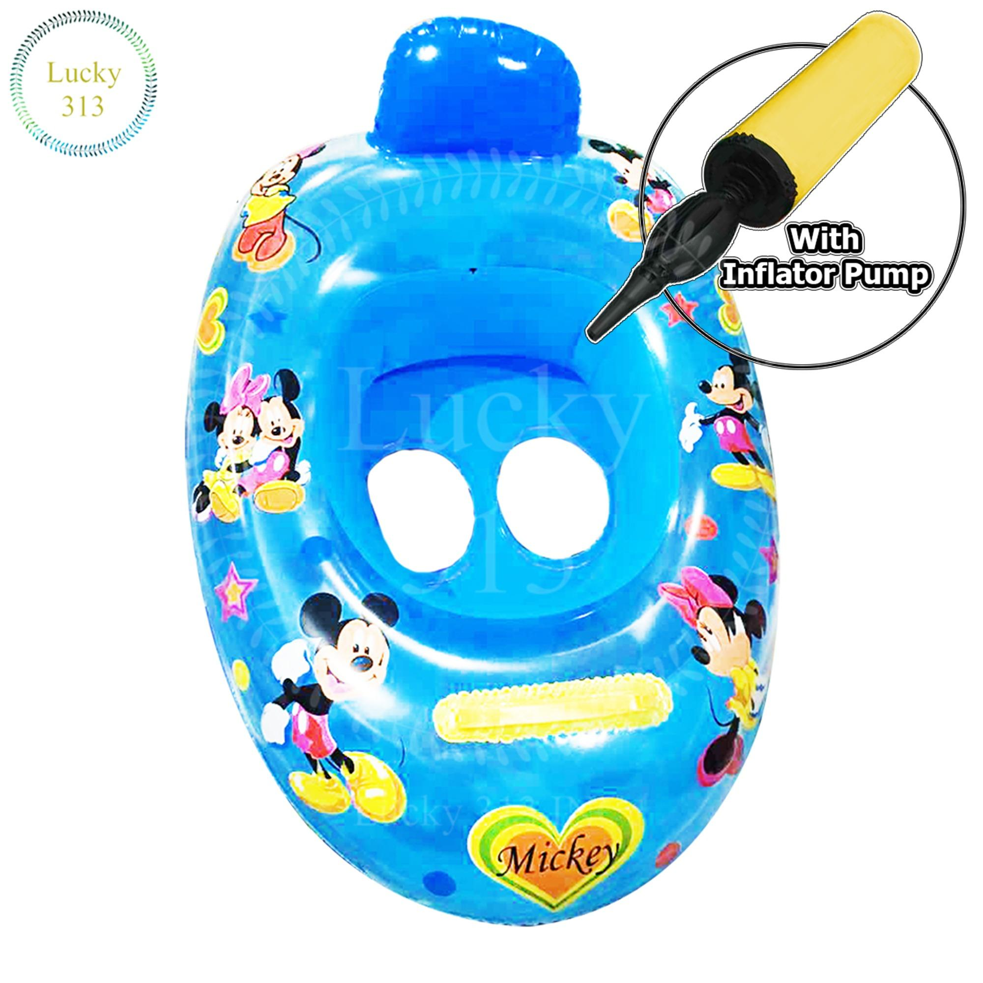 The cheapest price DS220 Inflatable Pool Swim Ring Seat Float Mickey ...