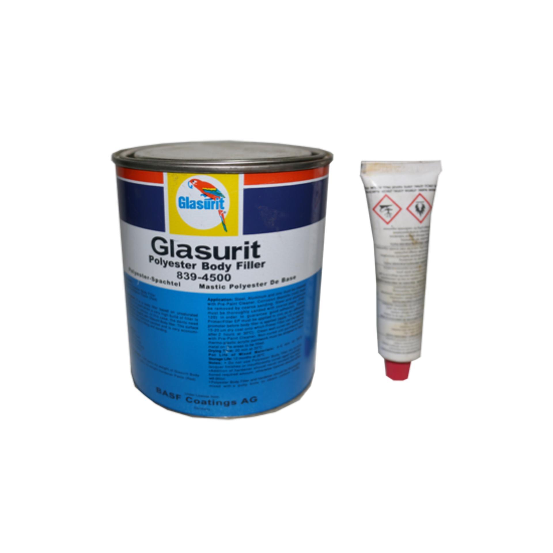 Glasurit Body Filler 1 Liter With Hardener