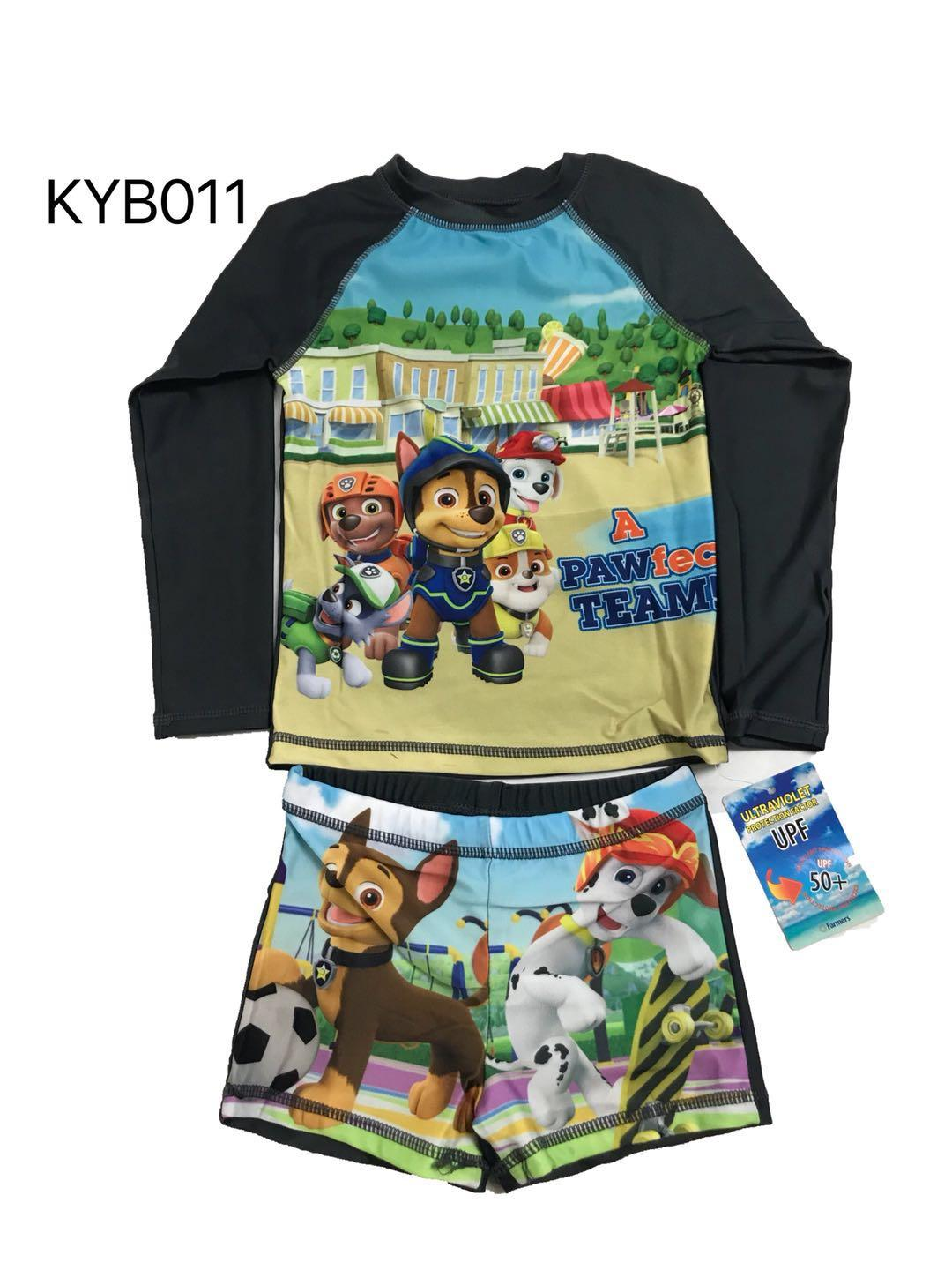 Kyb.011 Rashguard For Boy By Joy Wears.