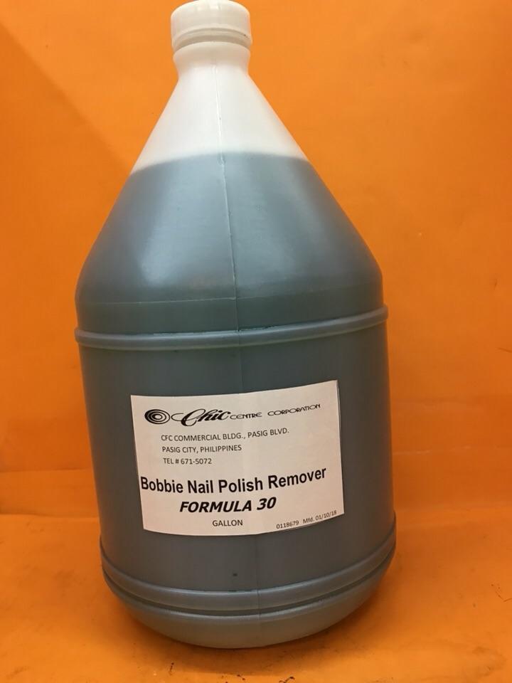Bobbie acetone (1 gallon) Philippines