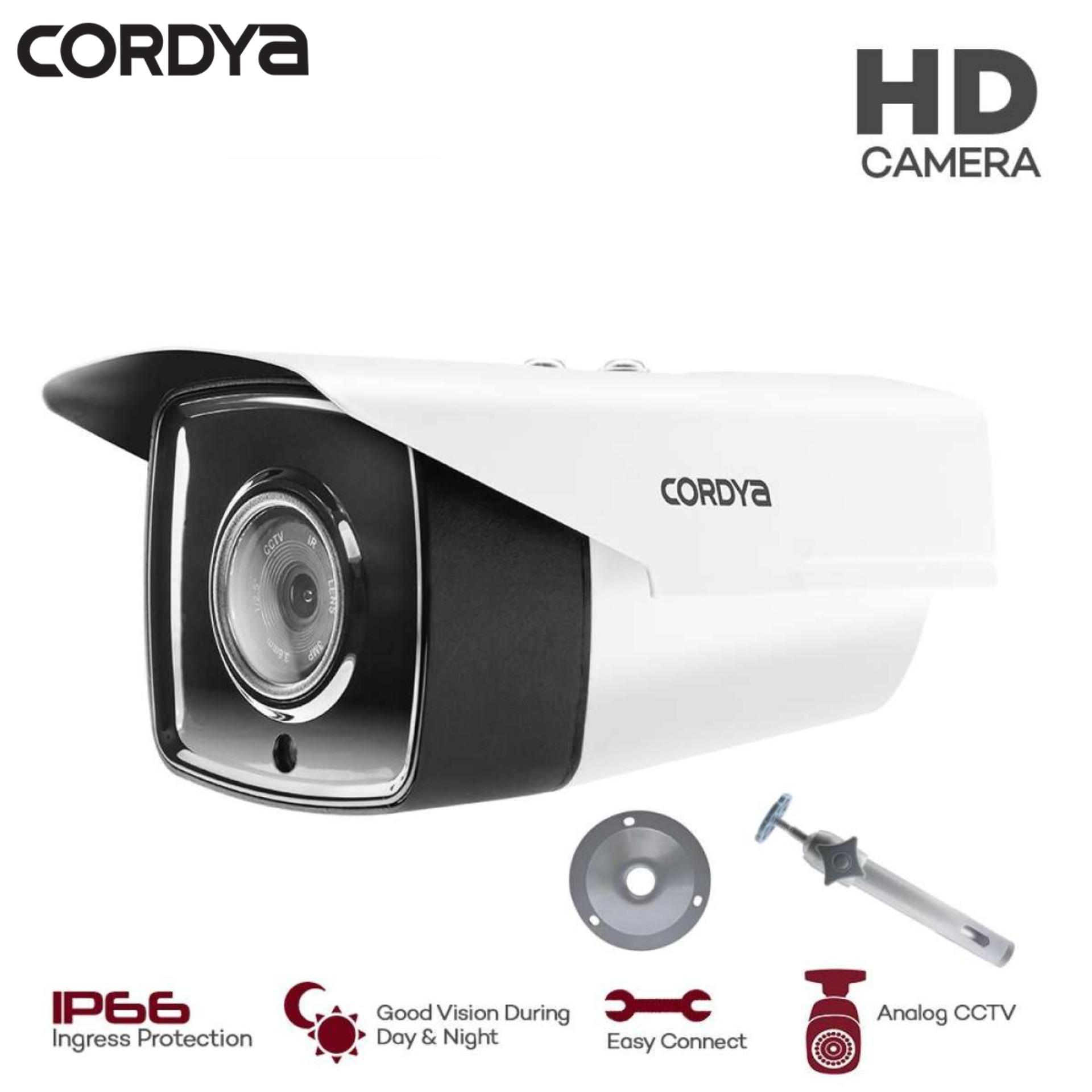 Cordya 965AHD AHD IP66 2 0MP 3 6MM Night Vision Analog CCTV 1PC Metal  Bullet Camera