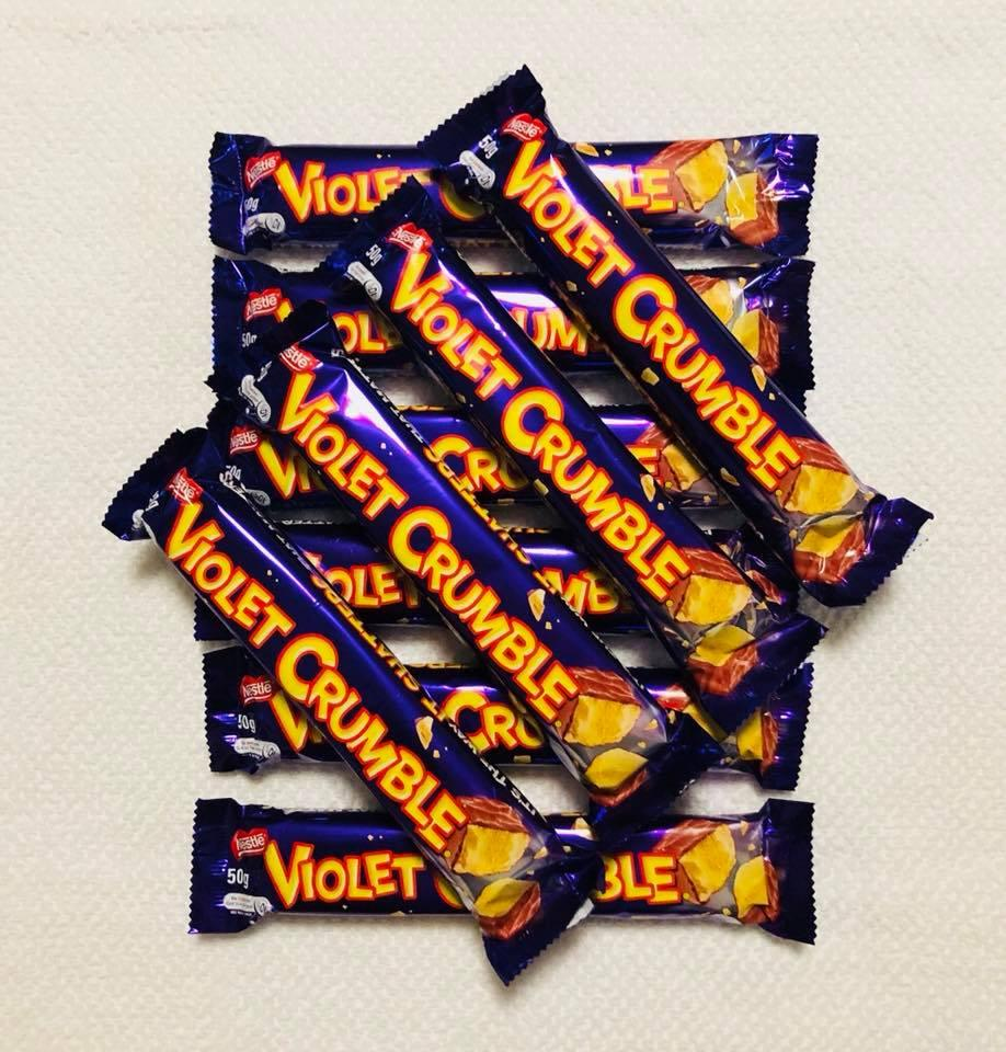 Violet Crumble Chocolate ( One bar only )
