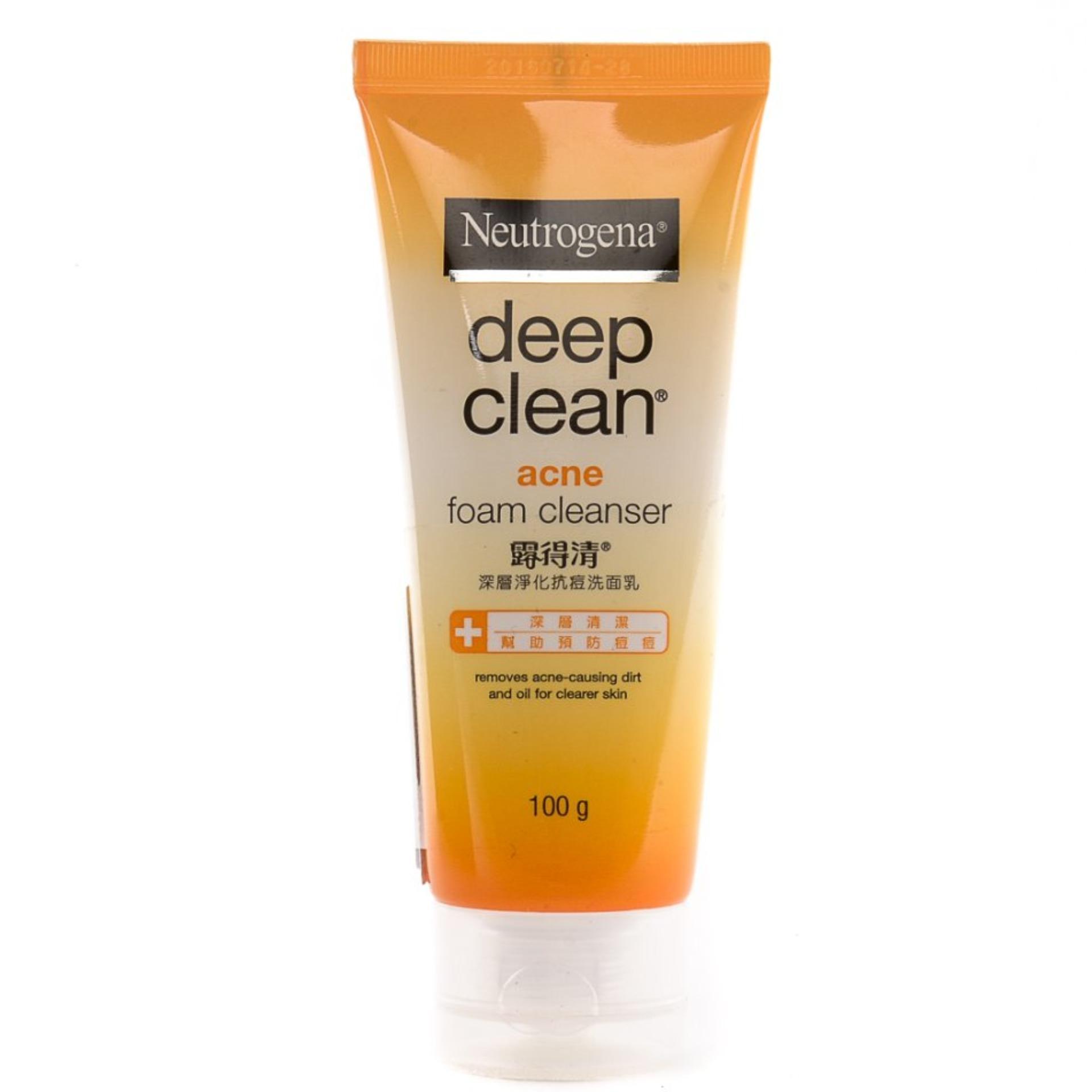 NEUTROGENA Deep Clean Acne Clearing Foam 100g