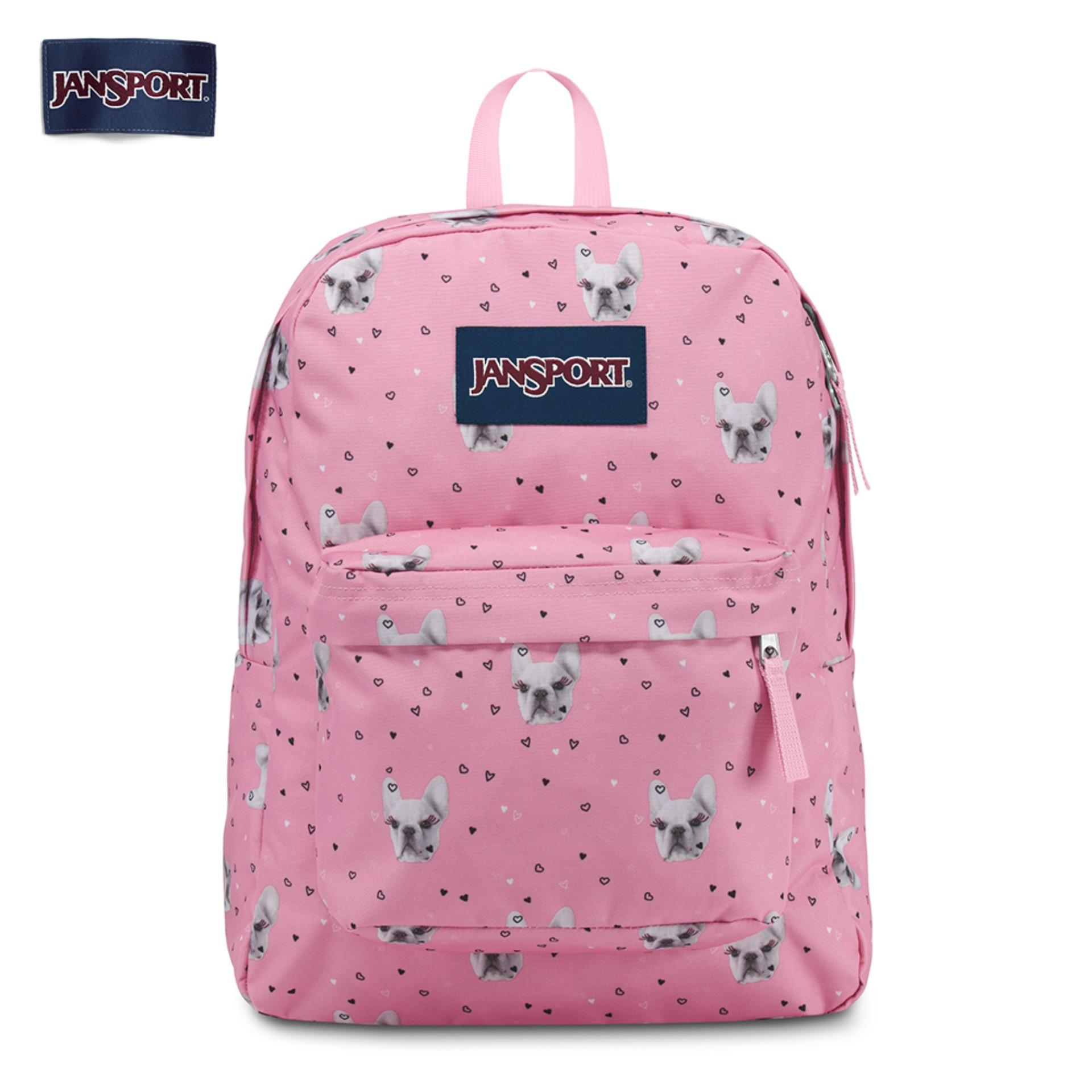 JanSport Womens Classic Superbreak T501 Backpack 600 Denier Polyester  Backpack 1521ab291c301