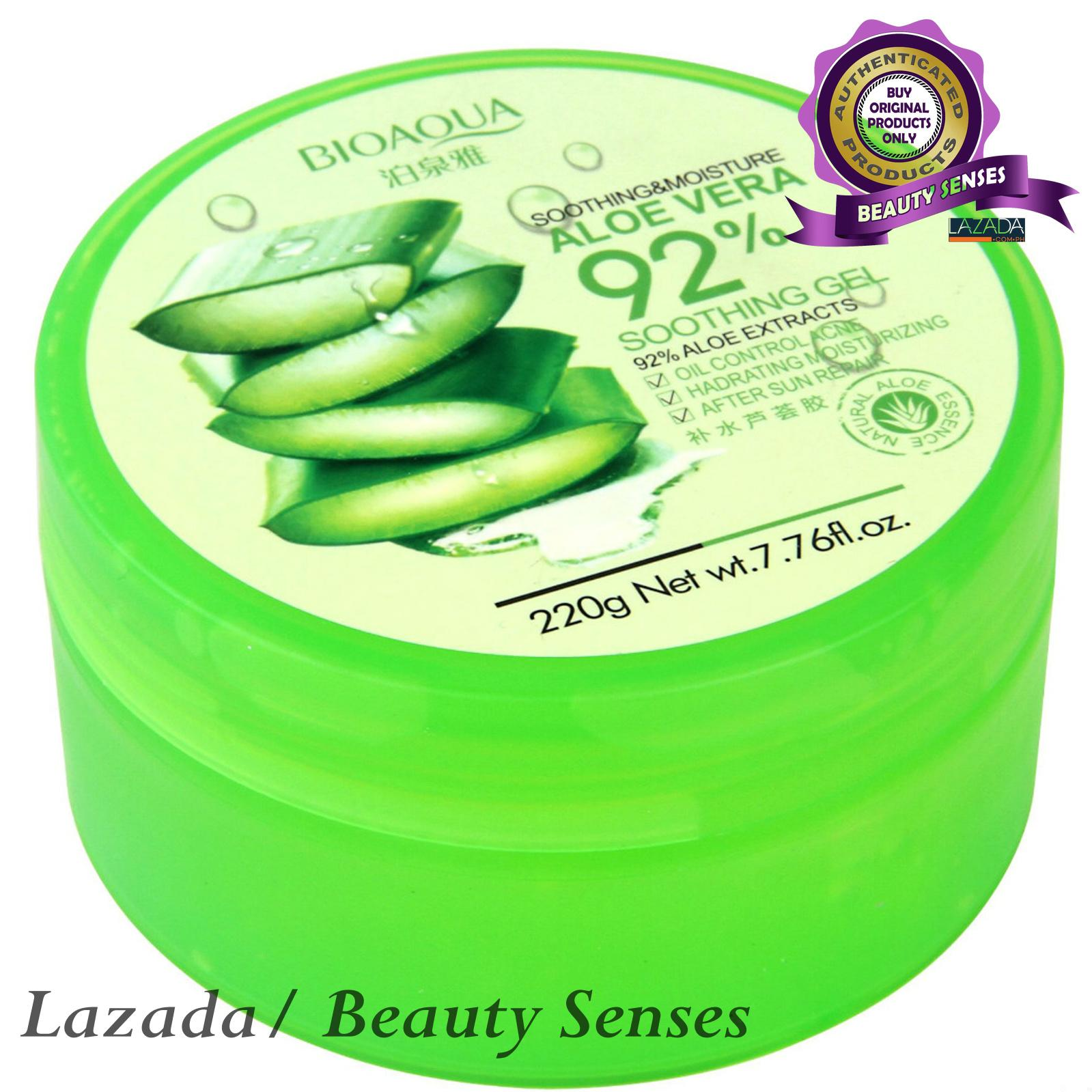 Buy Sell Cheapest Bioaqua Original Soothing Best Quality Product Aloe Vera Shooting Gel Moisture Whitening 220g