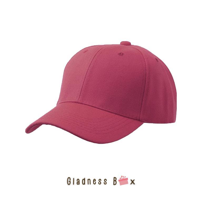 87df1225 Gladness Box High Quality Plain Baseball Cap for Men/Women/Unisex