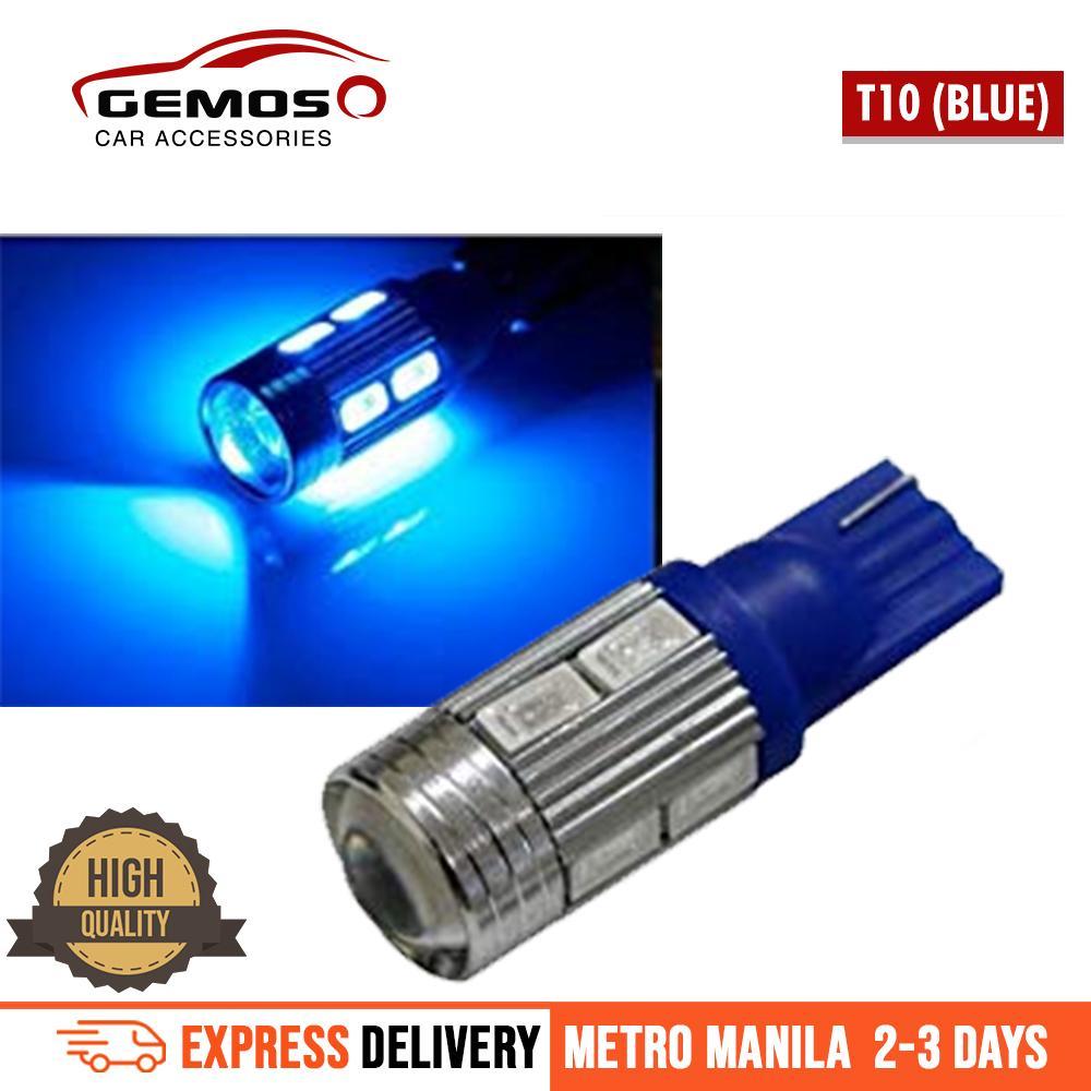 Car Lighting Electrical For Sale Parts High Power Led Mood Lamp T10 5630 Smd Park Light Plate Room Lightblue