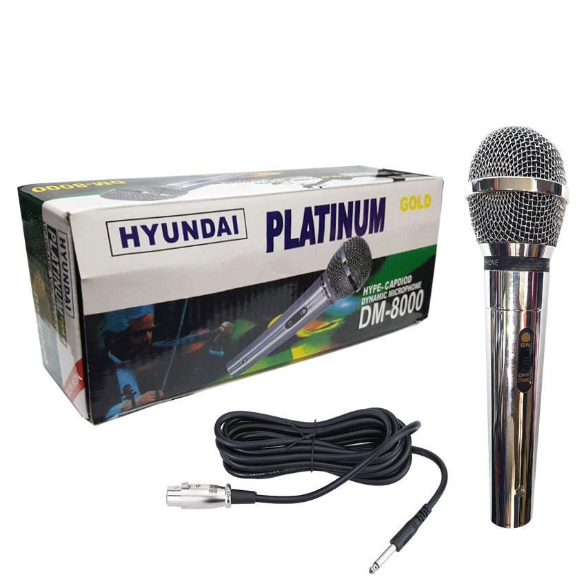 Hyundai Platinum Gold DM-8000 Professional Hyper-Cardioid Dynamic Microphone