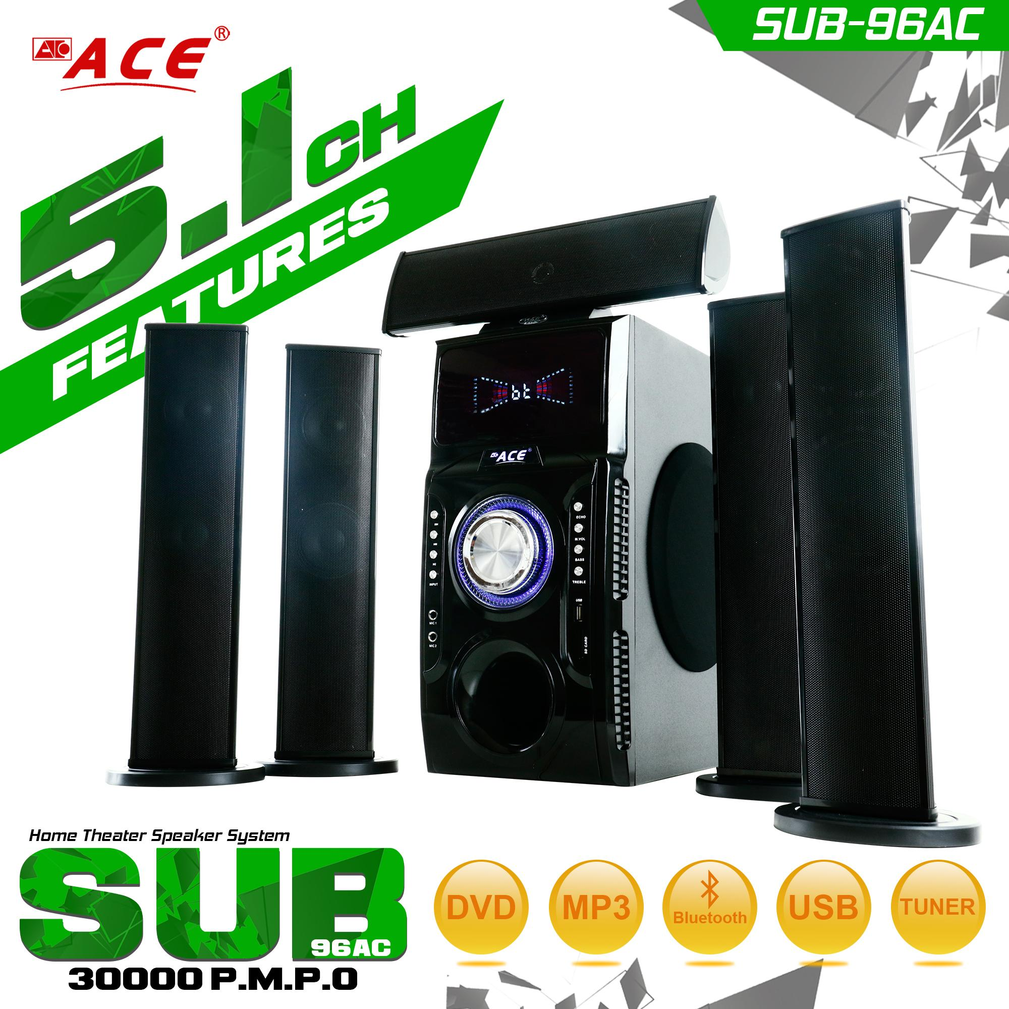 Subwoofer For Sale Speaker Prices Brands Specs In Multiple Wiring Types Ace Sub 96ac 51ch Multimedia System