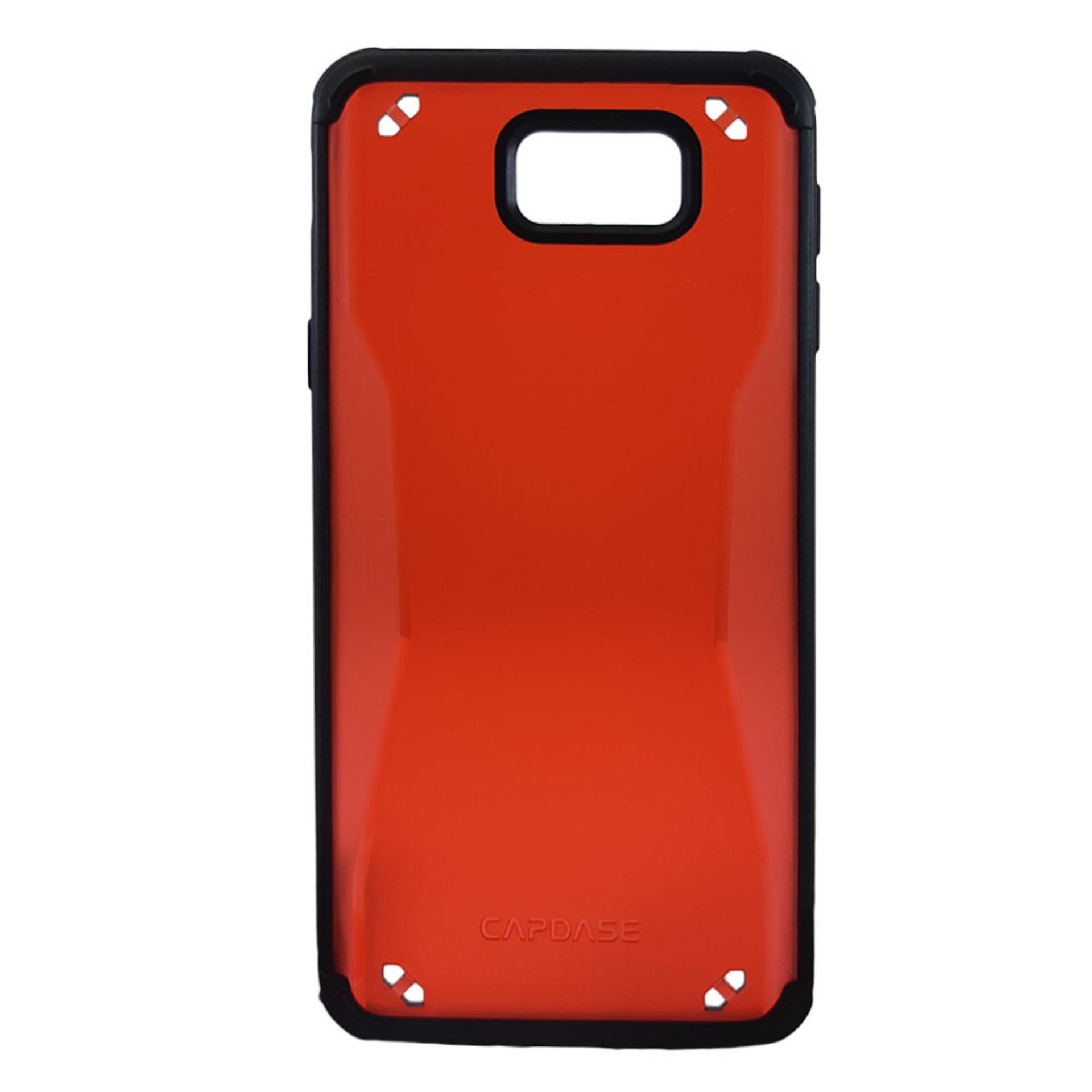 Capdase Fuze II Soft Jacket for Samsung Galaxy J5 Prime (Tinted Red Black)